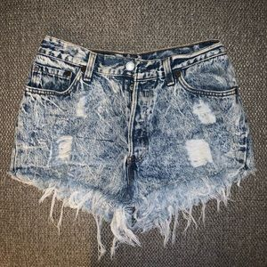 Urban Outfitters Levi's Urban Renewal shorts